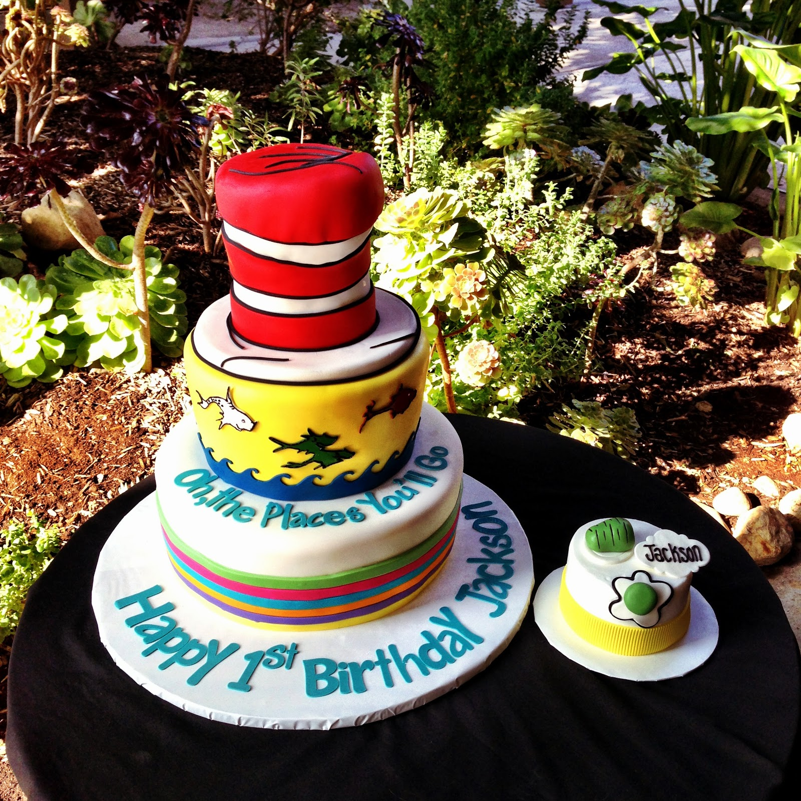Its All About The Cake Dr Seuss Themed Cake
