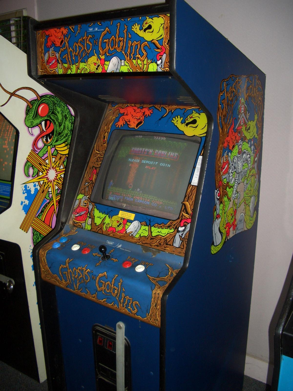 Fishsta S Retro Zone Arcade Ghosts N Goblins