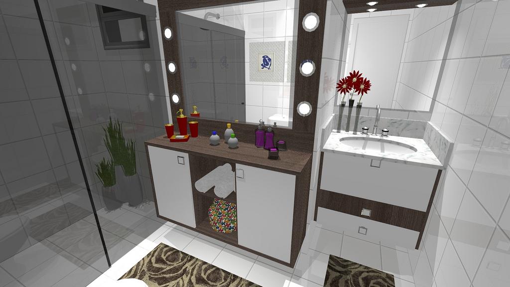 Ambientes & Ideias Banheiro  Uma breve história da evolução desse cômodo # Armario Banheiro Vazado