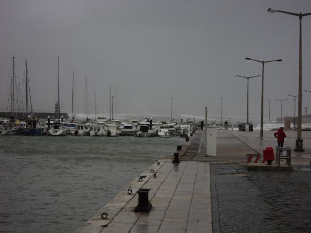 Storm in Peniche