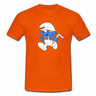 koszulka Smurfy