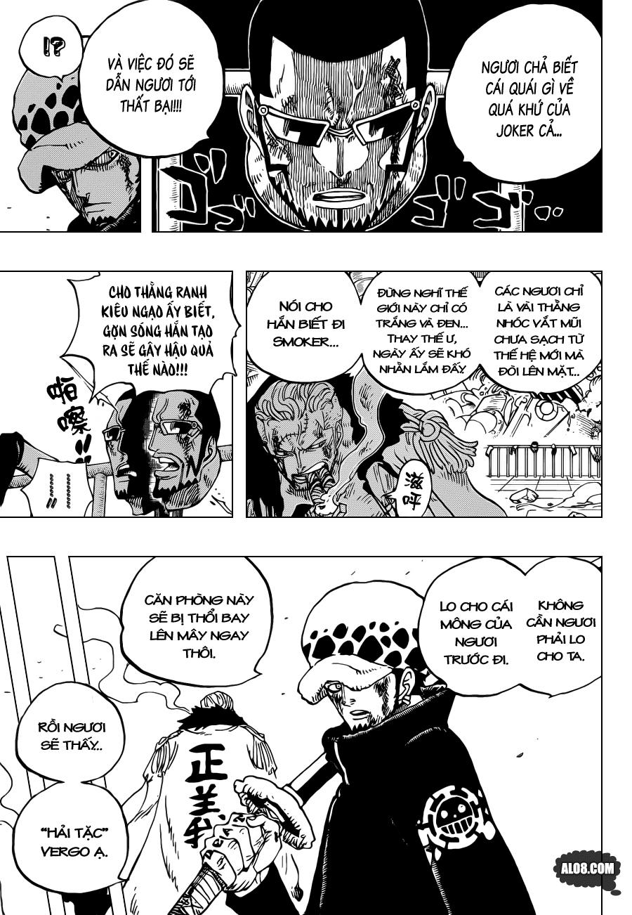 One Piece Chapter 691: Vị vua của vùng đất chết 007