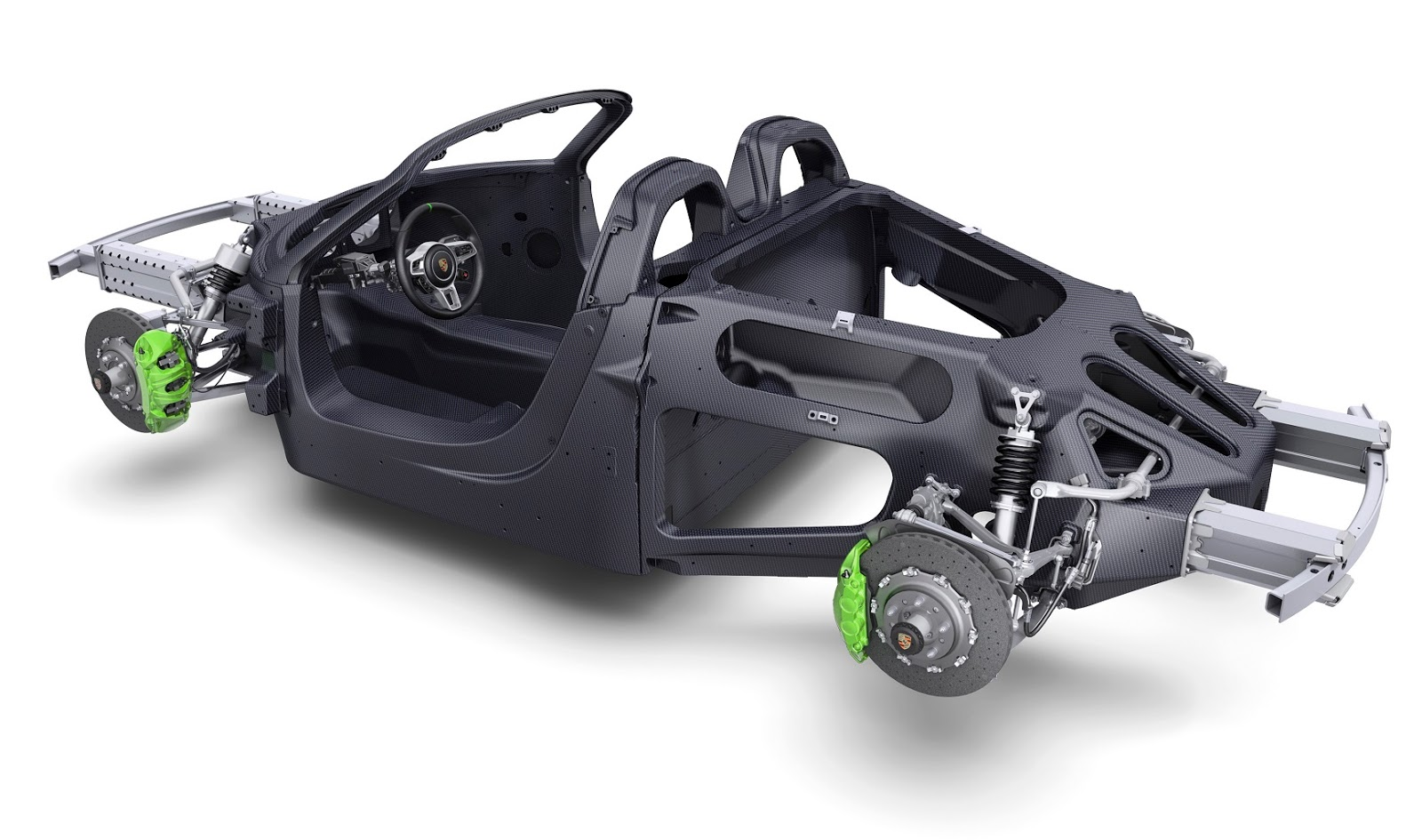 The Hybrid Power Train Consists Of A 46 Liter Eight Cylinder Petrol Engine That Produces 617PS 453kW Or 608bhp Module Comprising 156PS