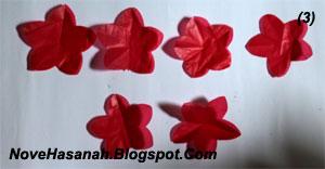 cara membuat kreasi bunga dari kantok kresek bekas 2