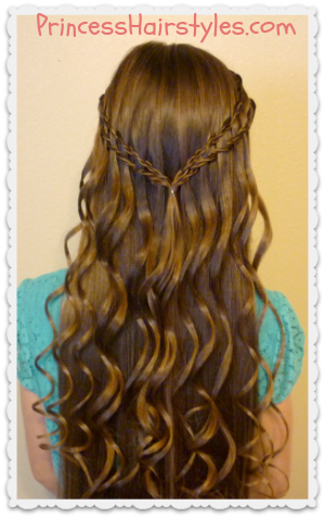Waterfall Braid Tutorial (Scissor Twist Technique)