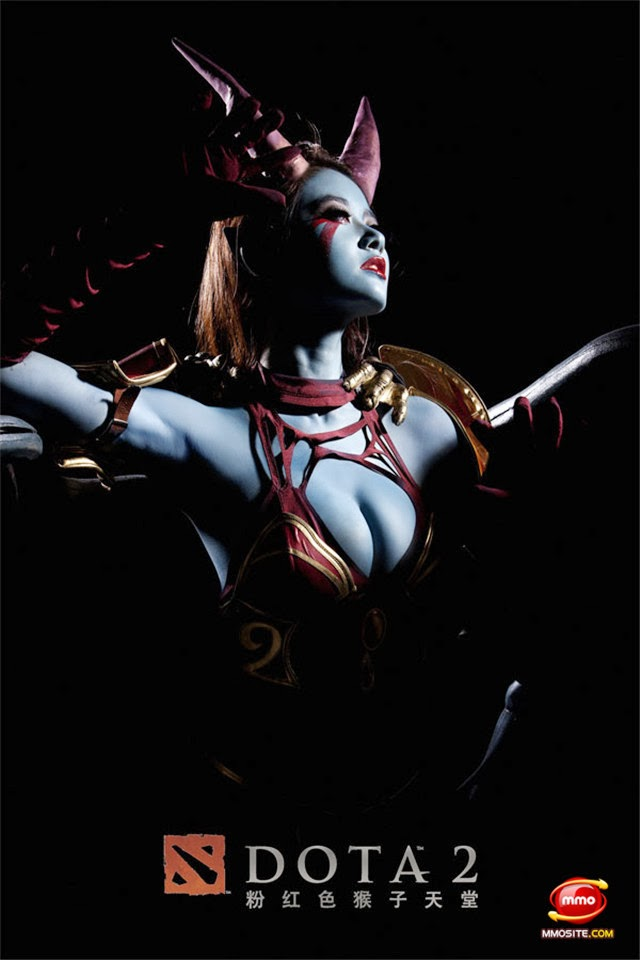 queen of pain cosplay ti4 - photo #35