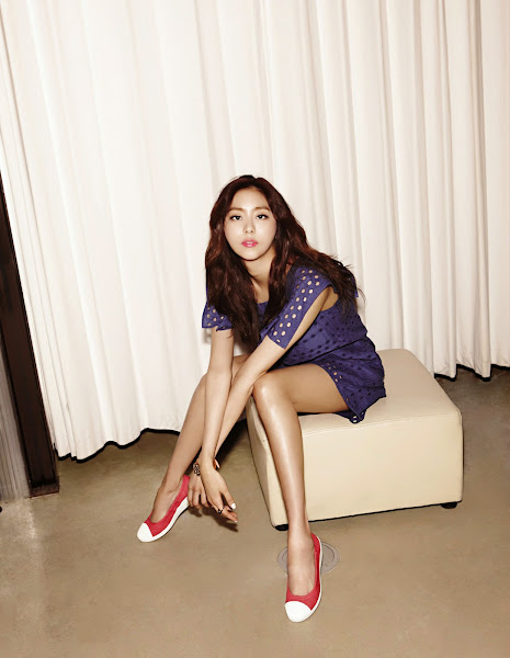 After School Uee Singles Korea March 2015