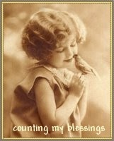 Wonderful scripture, beautiful vintage images and sound spiritual guidance from a dear blogger friend