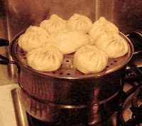steamed Baozi Chinese steamed bread with fillings