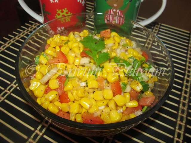 Corn Chaat (Sweet,Spicy & Tangy Combo) & Awards !!!!