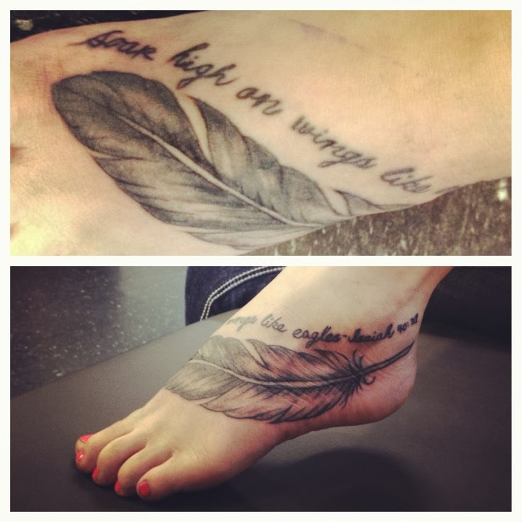 Tattoo Quotes With Feathers: Feather Quotes From Bible. QuotesGram