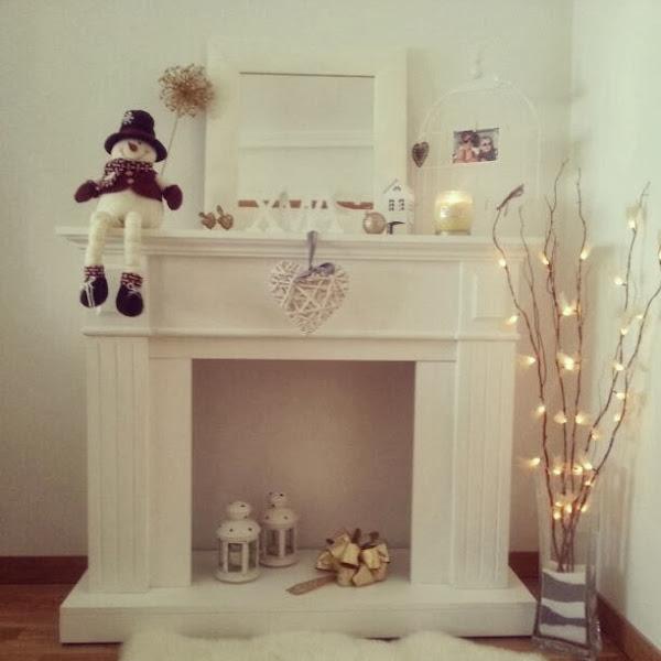 Chimeneas de navidad decorar tu casa es - Como hacer chimeneas decorativas ...