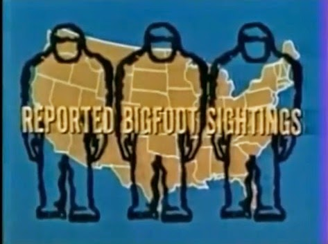Reported Bigfoot Sightings