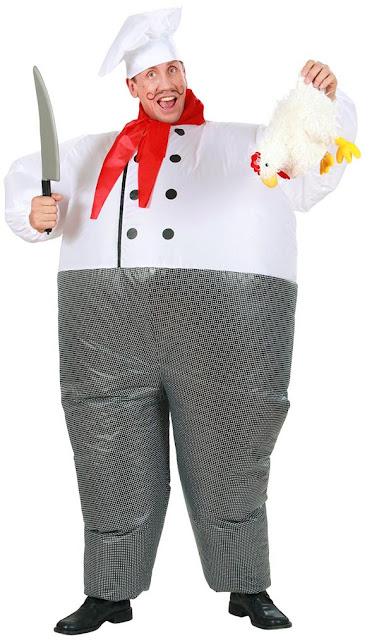 Udklædt som fed kok