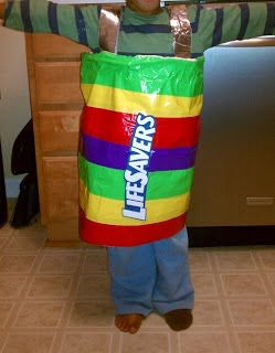 Duct Tape Life Savers Costume