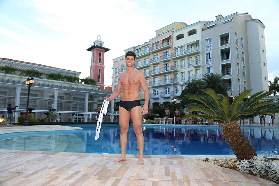 Mister Alto Tietê - Pedro Gicca, 27 anos, 1,87 m - Foto: Leonardo Rodrigues