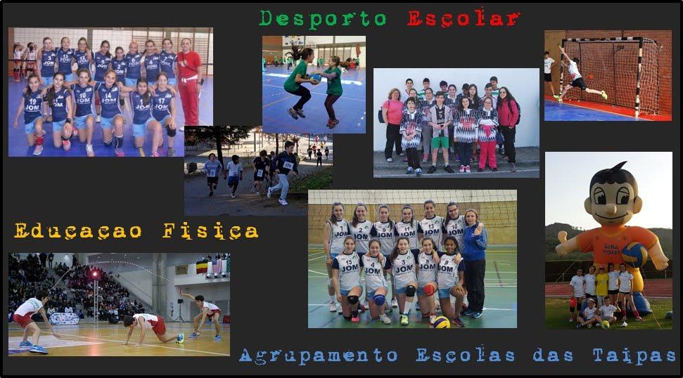Educação Física e Desporto Escolar nas Taipas  AET