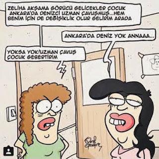 Ankara'da bok var annaaa