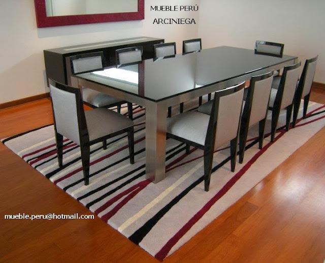 Imagenes de muebles de comedor for Fabricantes sillas peru