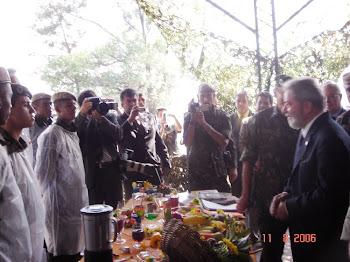 20º GAC L - Visita do Presidente Lula