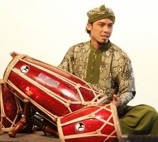 gendang alat musik ritmis