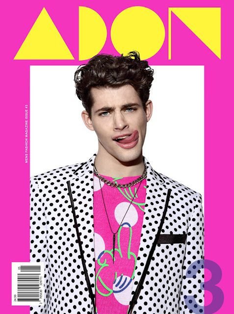 Jamie Wise on the Cover of ADON Magazine #3