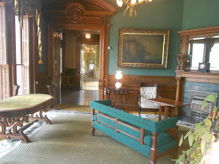 interior of george littlefield house