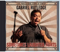 "Buy my CD ""Sometimes Laughter Hurts"""