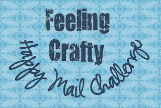 Join the Feeling Crafty Happy Mail Challenge - Getting a card can really make someone's day - challenge yourself to send three a week - so much fun!
