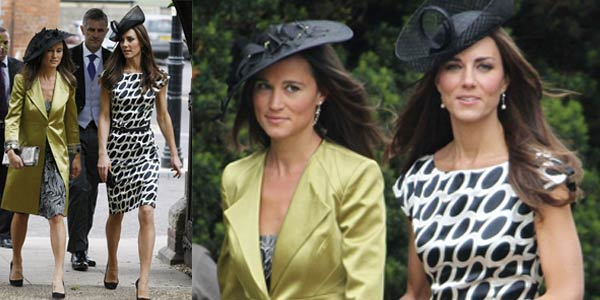 War Style Kate and Pippa Middleton