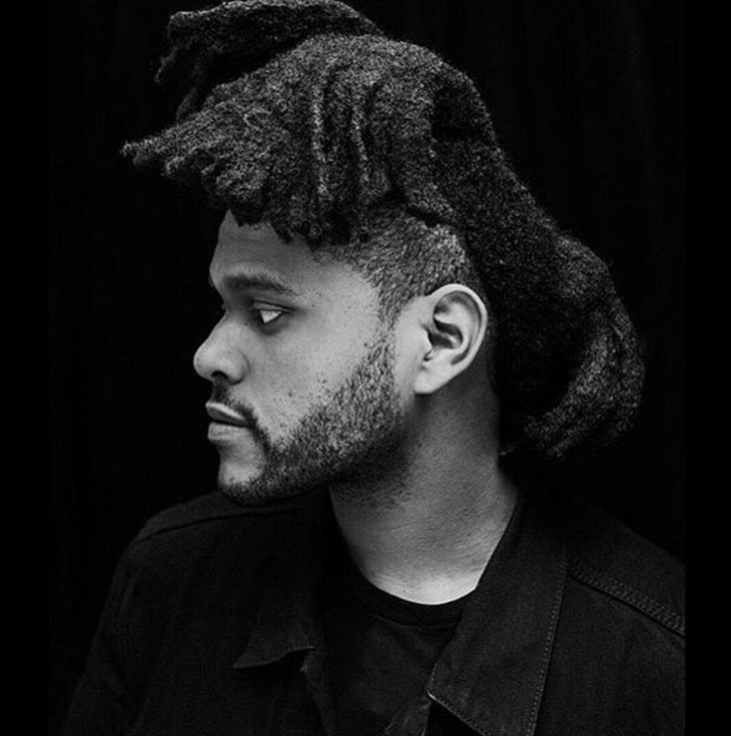 The Weeknd hair