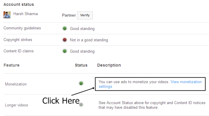 Steps to Add Two Youtube Account with One Adsense Account