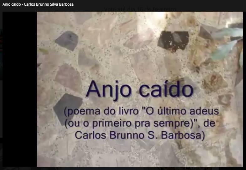 """Ajude o Vídeo Poema """"Anjo Caído"""" a voar mais alto!"""