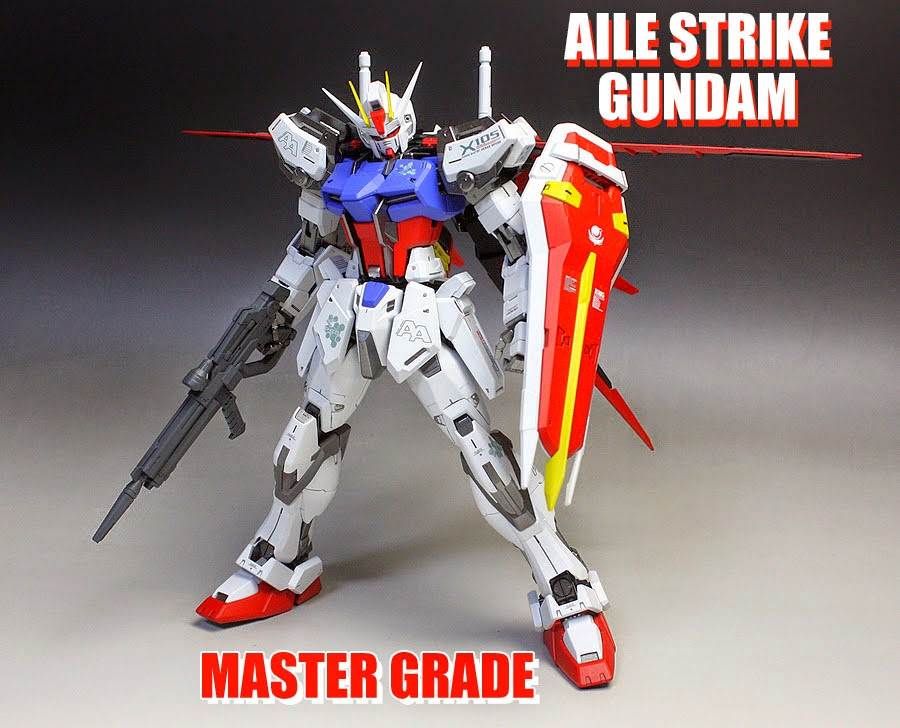 AILE STRIKE GUNDAM MASTER GRADE RECENSIONE
