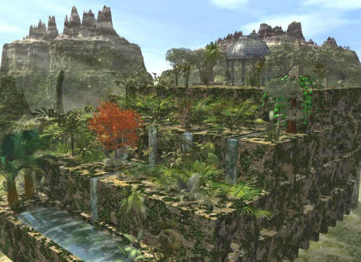 The Hanging Gardens of Babylon
