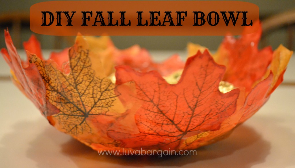 Fall Homemade Decorations Part - 39: Fall Leaf Bowl - Feature Of The Day