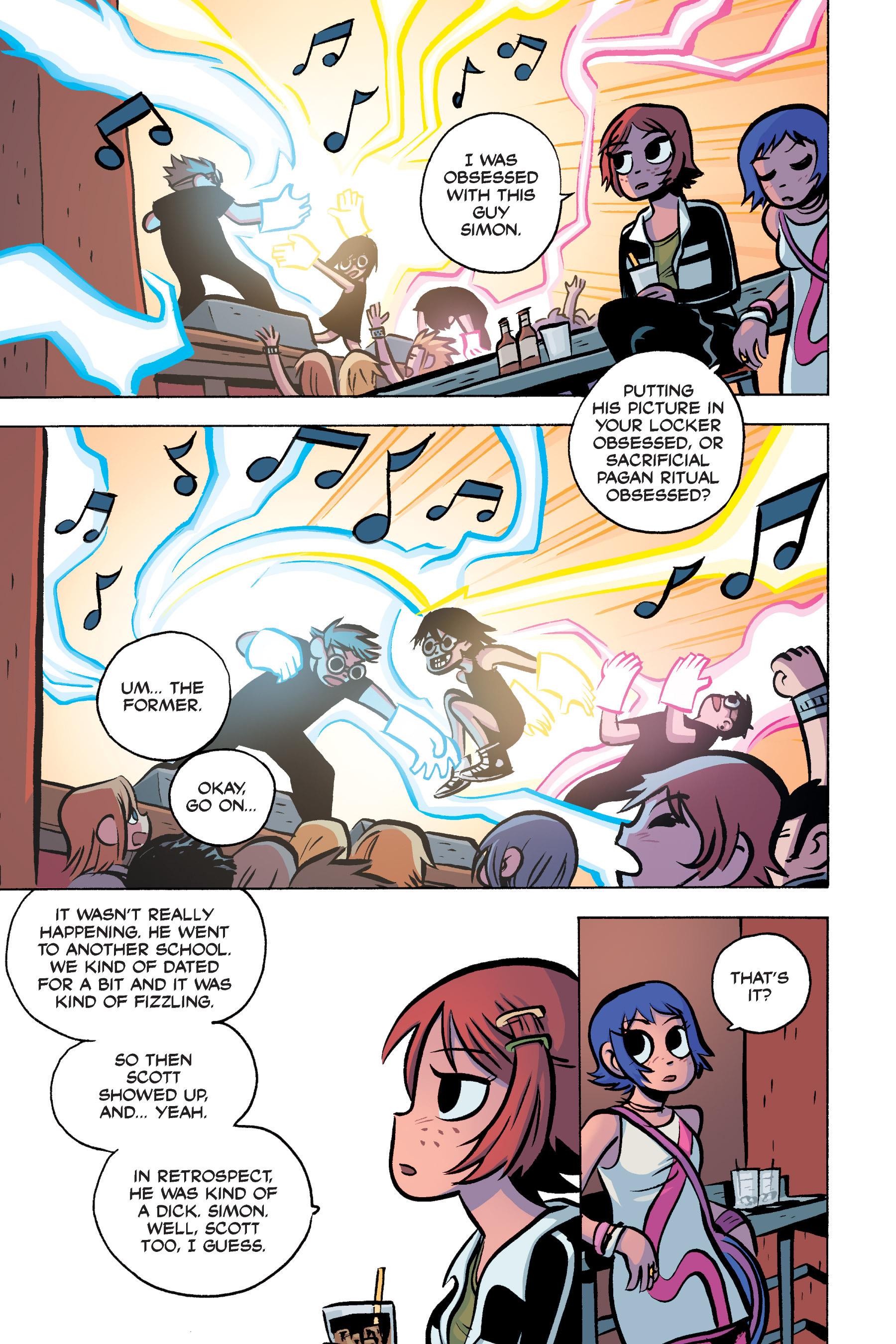 Read online Scott Pilgrim comic -  Issue #3 - 110