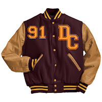 An Approximation of my Brother's Letterman's Jacket