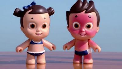 Bonecos Nivea Doll Nina e Lipe Tudo Sobre Tudo