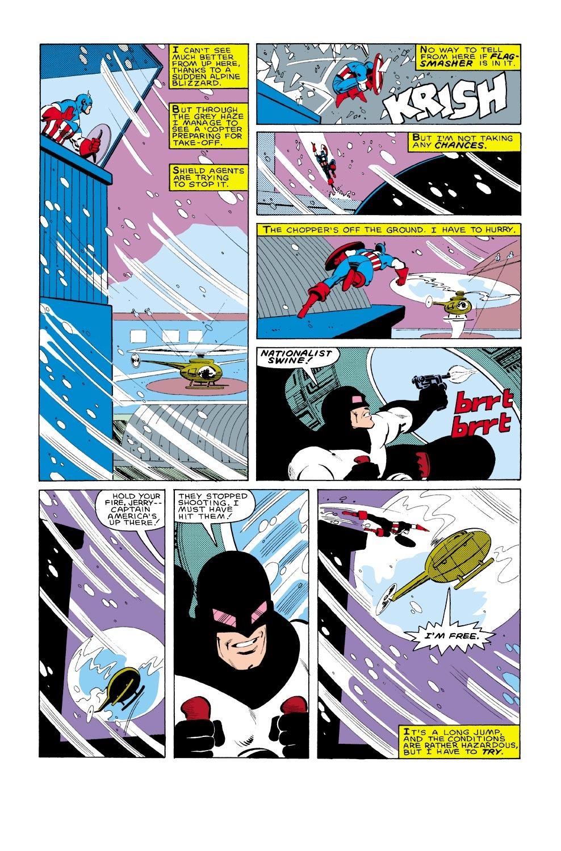 Captain America (1968) Issue #322 #250 - English 7
