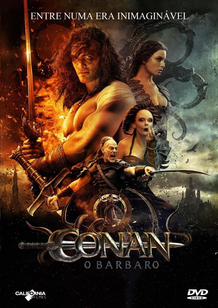Filme Conan O Bárbaro Dublado AVI BDRip