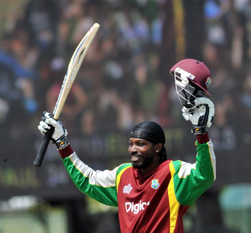 West Indies Cricketer Chris Gayle Wallpapers 2013