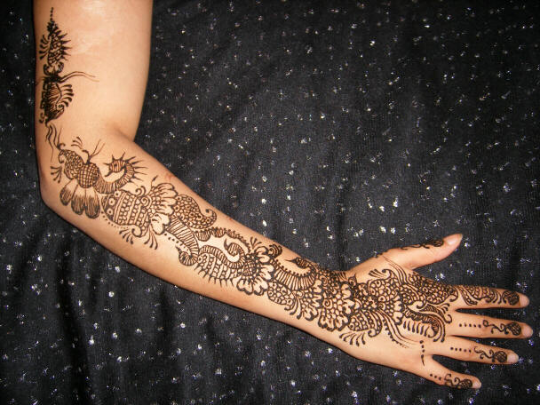 Bridal Mehndi Ki Design : Mehndi designs pakistani bridal pictures