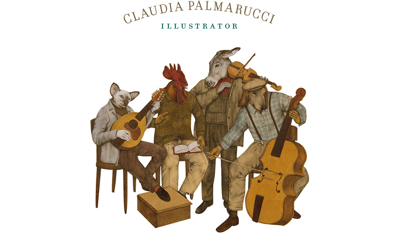 Claudia Palmarucci illustrator