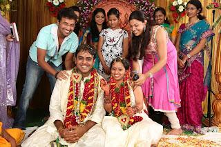 Singer Malavika Wedding Reception