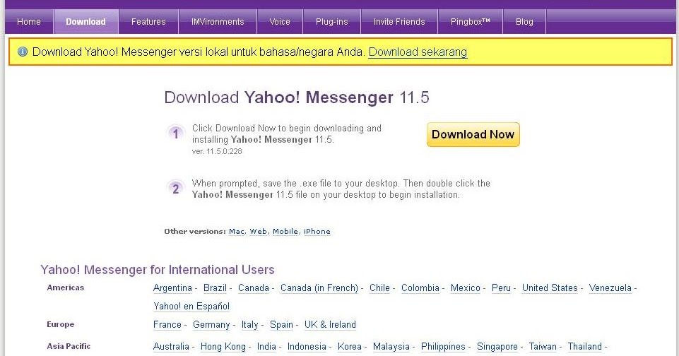 yahoo international chat rooms