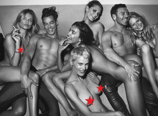 Irina Shayk en topless