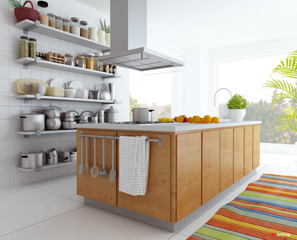 2012 best kitchen designs art design for Good kitchen layout
