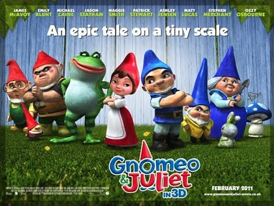 Gnomeo And Juliet (Film Lucu Tentang Patung-Patung Taman)