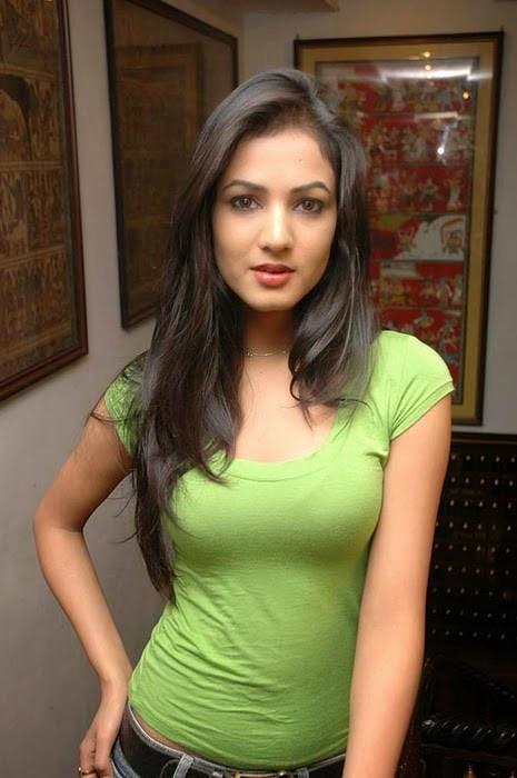 Sonal Chauhan Stills in Green Top